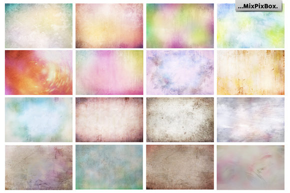 Print on Demand: Pastel Fine Art Textures Graphic Textures By MixPixBox - Image 5