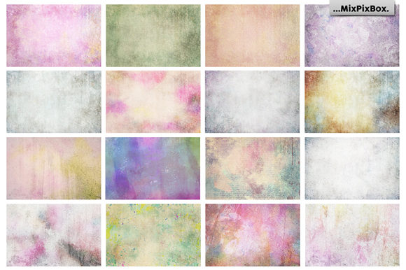 Print on Demand: Pastel Fine Art Textures Graphic Textures By MixPixBox - Image 6