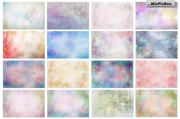 Print on Demand: Pastel Fine Art Textures Graphic Textures By MixPixBox - Image 7