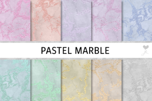 Pastel Marble Graphic By JulieCampbellDesigns