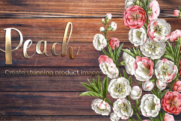 Peach Blossom Graphic Illustrations By Enliven Designs - Image 4