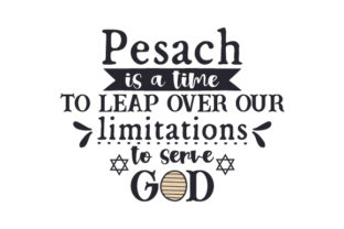 Pesach is a Time to Leap over Our Limitations to Serve God Craft Design By Creative Fabrica Crafts