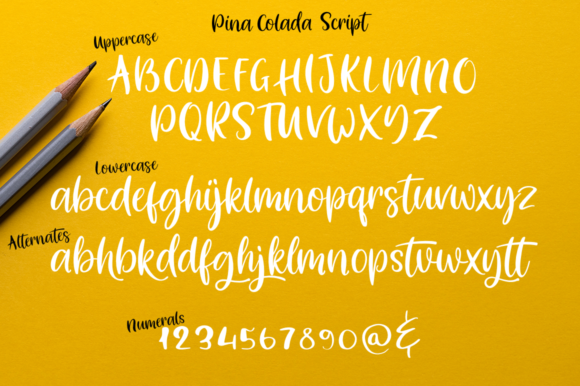 Pina Colada Font Downloadable Digital File