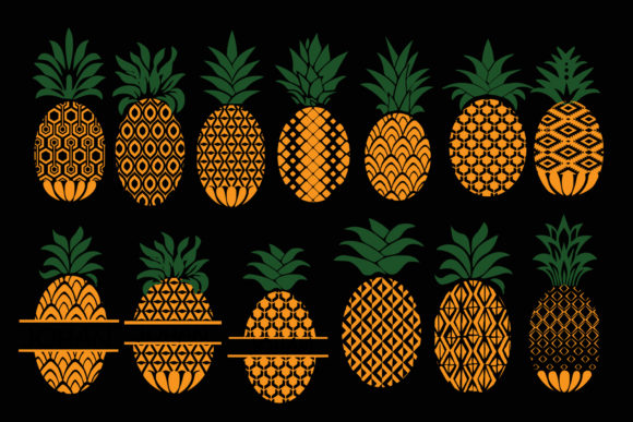 Print on Demand: Pineapple  Graphic Illustrations By johanruartist