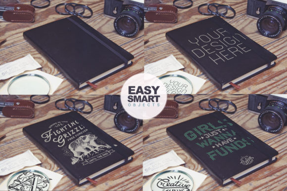 Pocket Notebook Cover & Card Graphic Product Mockups By SmartDesigns - Image 2