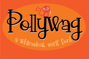 Pollywag Font By Illustration Ink