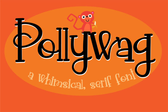 Print on Demand: Pollywag Serif Font By Illustration Ink