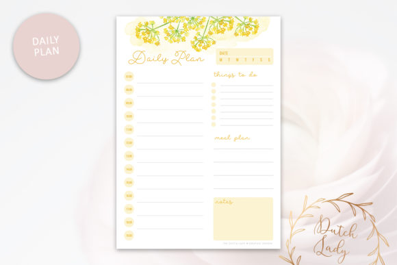 Print on Demand: Printable Planner Pack Graphic Print Templates By daphnepopuliers - Image 2