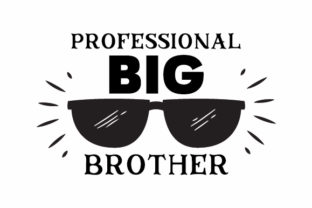 Professional Big Brother Kids Craft Cut File By Creative Fabrica Crafts