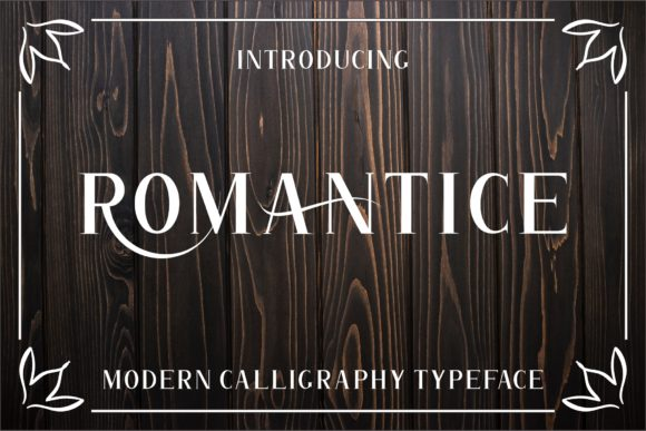 Print on Demand: Romantice Script & Handwritten Font By MJB Letters