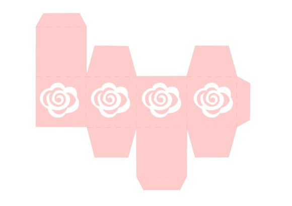 Print on Demand: Rose Box Graphic 3D SVG By jgalluccio