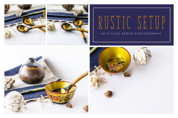 Rustic Setup Styled Photo Pack Graphic Product Mockups By dumitrasconiu.design - Image 1