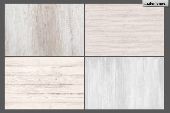 Print on Demand: Rustic Wood Textures Graphic Textures By MixPixBox - Image 2