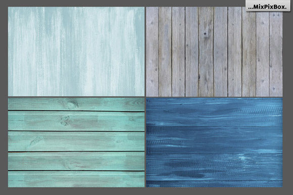 Print on Demand: Rustic Wood Textures Graphic Textures By MixPixBox - Image 4