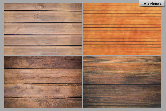 Print on Demand: Rustic Wood Textures Graphic Textures By MixPixBox - Image 5