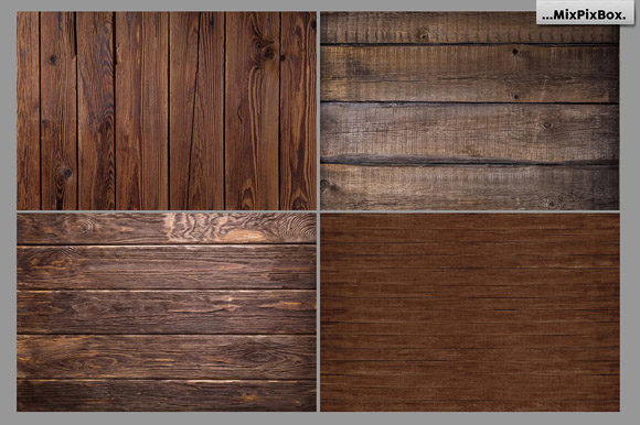 Print on Demand: Rustic Wood Textures Graphic Textures By MixPixBox - Image 6