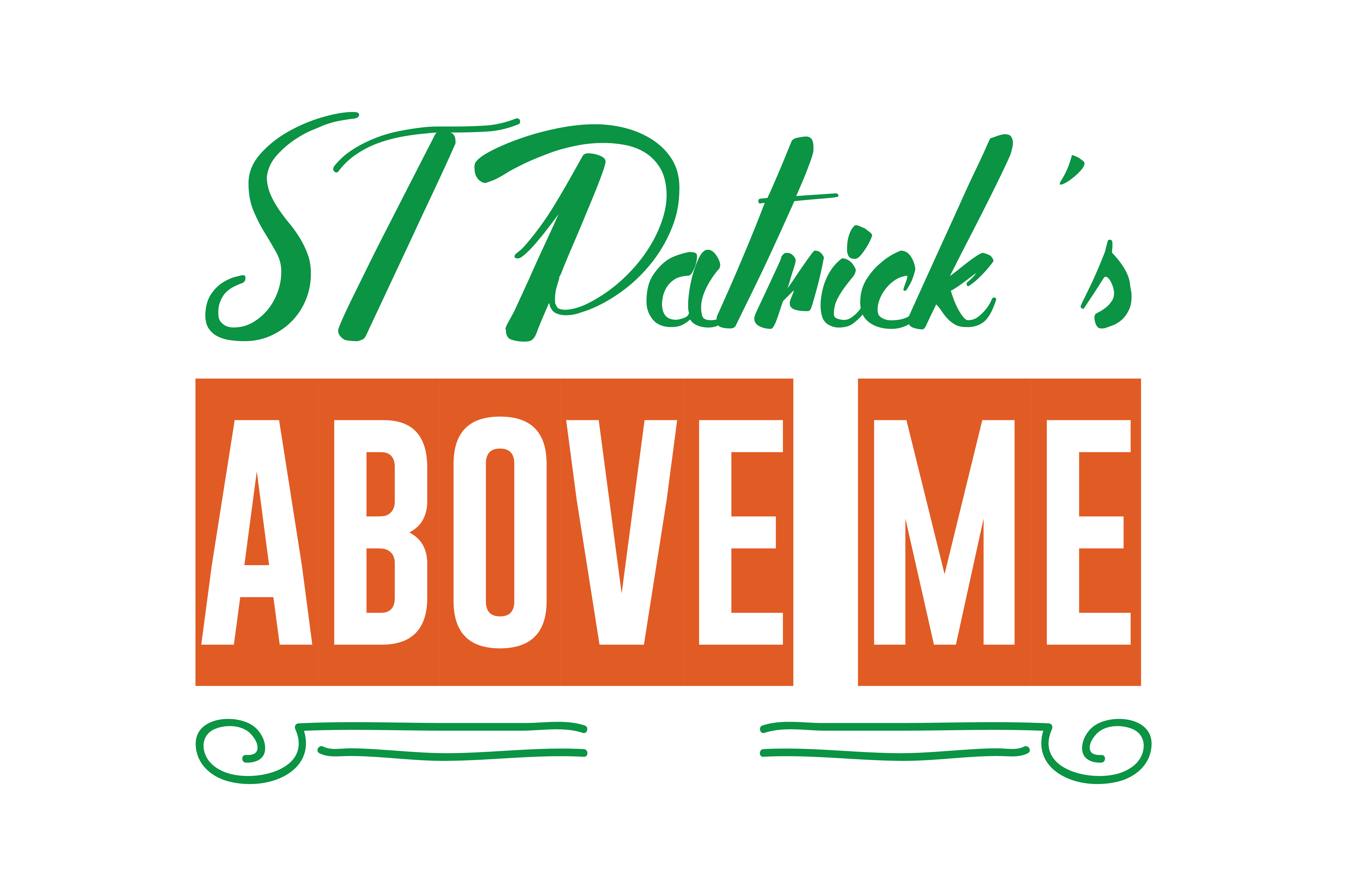 Download Free St Patrick S Above Me Quote Svg Cut Graphic By Thelucky for Cricut Explore, Silhouette and other cutting machines.
