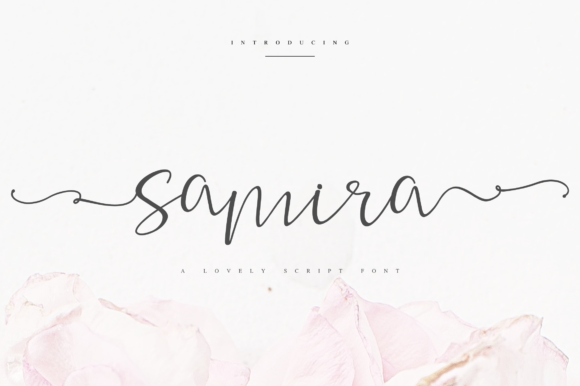 Print on Demand: Samira Script & Handwritten Font By Fridaytype