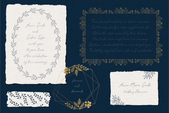 Set of Floral Frames Graphic Illustrations By anatartan - Image 7