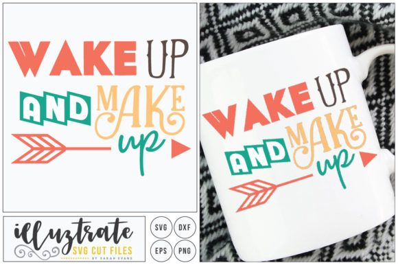 Print on Demand: Shake Up and Make Up SVG Graphic Crafts By illuztrate - Image 1