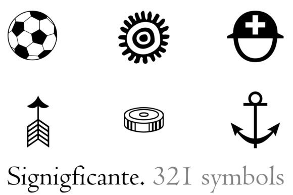 Print on Demand: Signigficante Dingbats Font By Intellecta Design