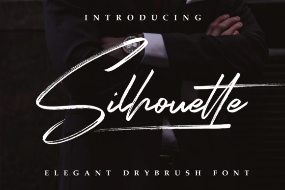Print on Demand: Silhouette Script & Handwritten Font By Lettersiro Co.