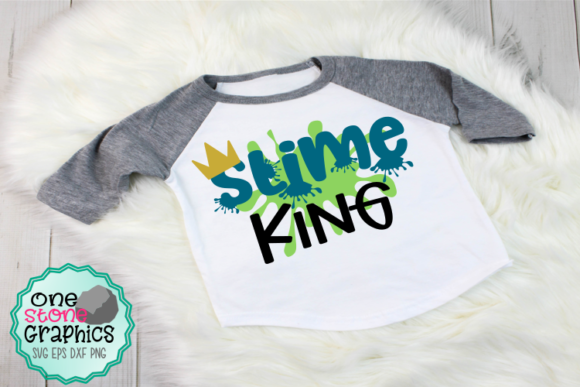 Slime King   Graphic Crafts By OneStoneGraphics
