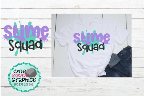 Download Free Slime Squad Graphic By Onestonegraphics Creative Fabrica SVG Cut Files