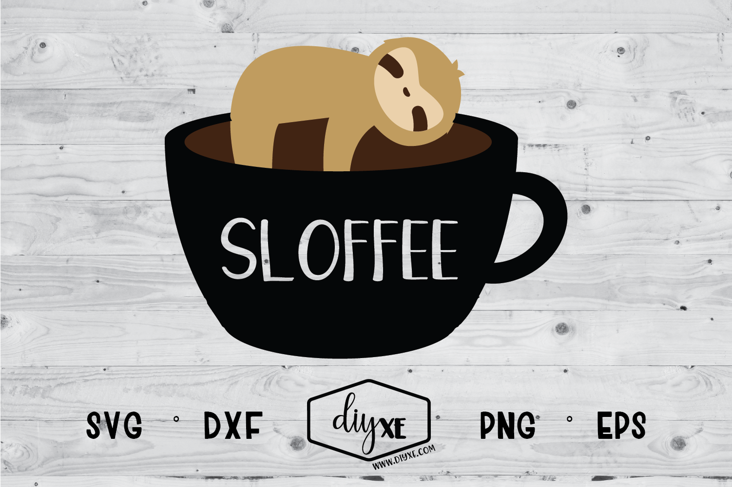 Download Free Sloffee Graphic By Sheryl Holst Creative Fabrica for Cricut Explore, Silhouette and other cutting machines.