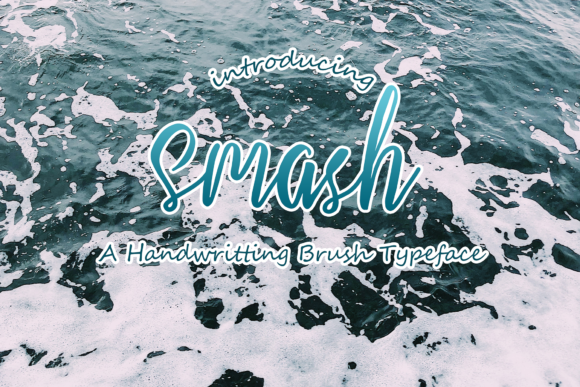 Print on Demand: Smash Script & Handwritten Font By W INTEREST