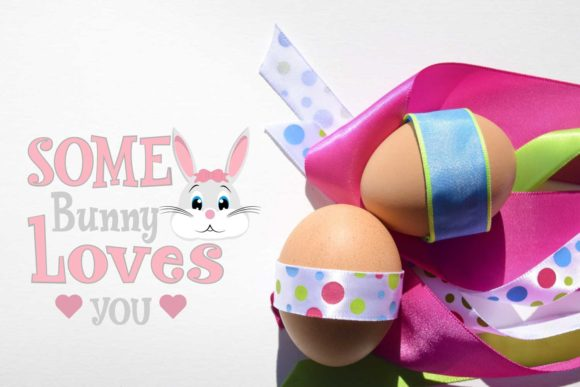 Print on Demand: Some Bunny Loves You Graphic Crafts By Goran Stojanovic - Image 1