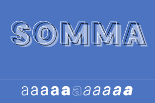 Somma Family Font By Genilson Santos