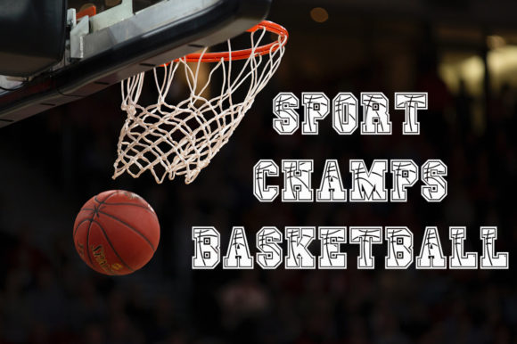 Print on Demand: Sport Champs Basketball Display Schriftarten von Anastasia Feya