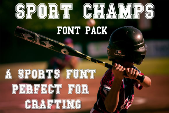 Print on Demand: Sport Champs Display Font By Anastasia Feya