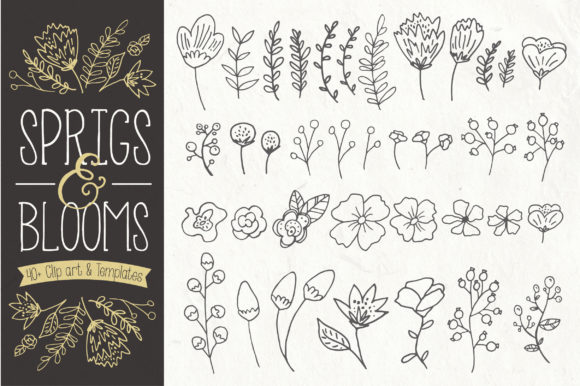 Download Free Rosemary Set Graphic By The Pen And Brush Creative Fabrica for Cricut Explore, Silhouette and other cutting machines.
