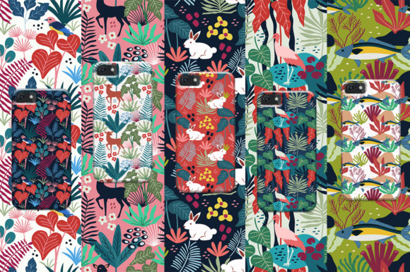 Print on Demand: Spring Pattern Toolkit Graphic Patterns By Caoca Studios - Image 13