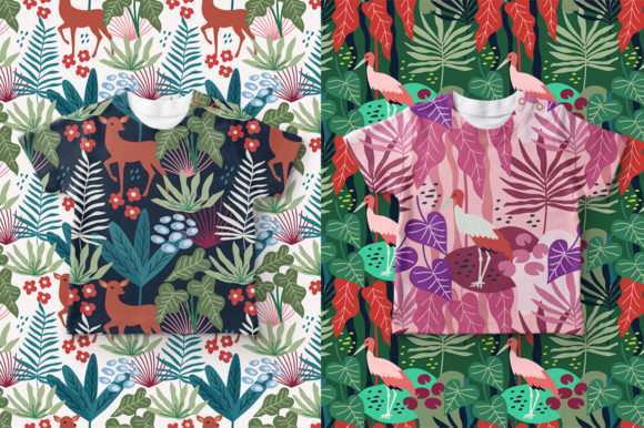 Print on Demand: Spring Pattern Toolkit Graphic Patterns By Caoca Studios - Image 14