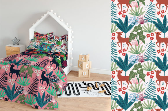 Print on Demand: Spring Pattern Toolkit Graphic Patterns By Caoca Studios - Image 16