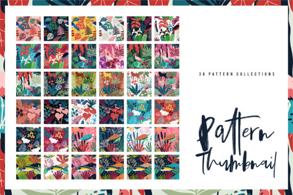 Print on Demand: Spring Pattern Toolkit Graphic Patterns By Caoca Studios - Image 5