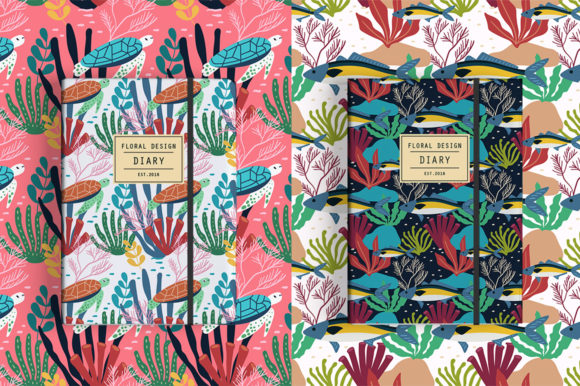Print on Demand: Spring Pattern Toolkit Graphic Patterns By Caoca Studios - Image 8