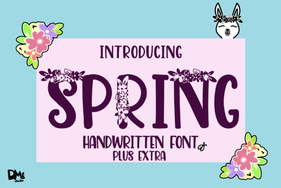 Print on Demand: Spring Script & Handwritten Font By Sharon ( DmStudio )