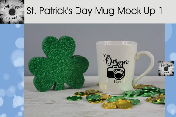 St. Patrick's Day Mug Mock Up Graphic Product Mockups By justclippinaround