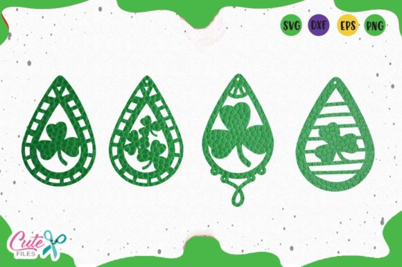 St Patrick's Graphic Illustrations By Cute files
