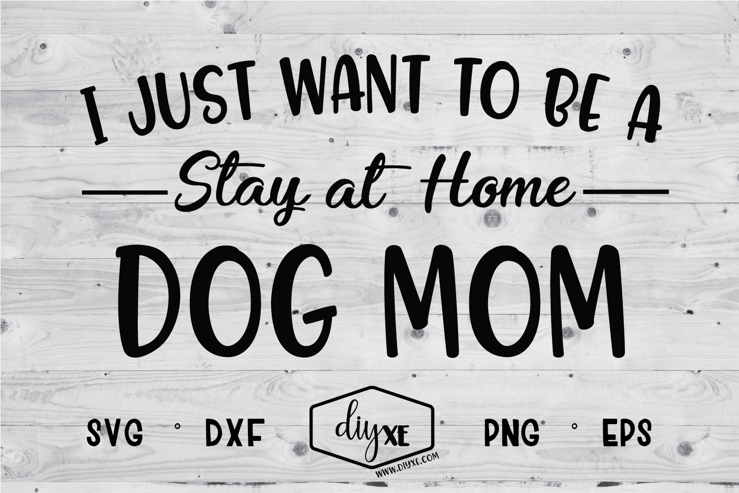 493ad665 Stay At Home Dog Mom SVG Graphic by Sheryl Holst - Creative Fabrica