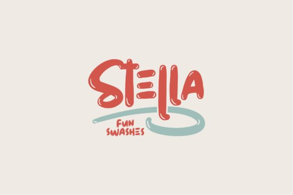 Print on Demand: Stella Display Font By goodjavastudio