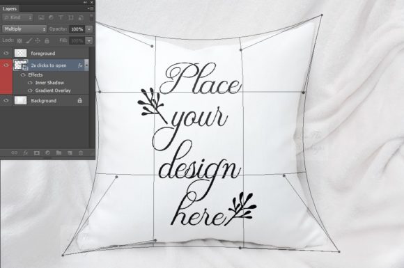 Print on Demand: Sublimation Pillow Cushion Mockup Graphic Product Mockups By Leo Flo Mockups - Image 4