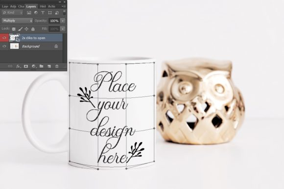 Download Free Sublimation White Coffee Mug Mockup Graphic By Leo Flo Mockups for Cricut Explore, Silhouette and other cutting machines.