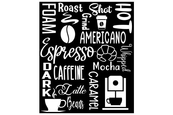 Download Free Subway Art For Coffee Svg Cut File By Creative Fabrica Crafts for Cricut Explore, Silhouette and other cutting machines.