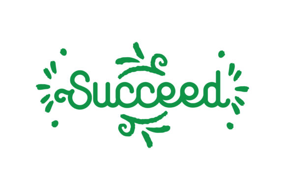 Print on Demand: Succeed Quote Graphic Crafts By TheLucky