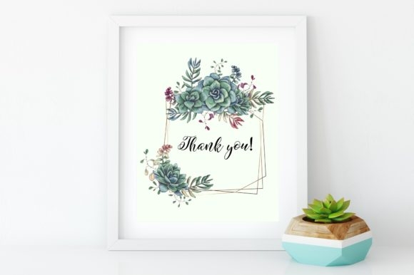 Succulents in Green Graphic By nicjulia Image 9